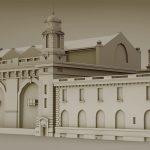 Portfolio laurent gosselin : Ellis-Island-Main-Building