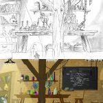 Portfolio laurent gosselin : laboratory for cartoon