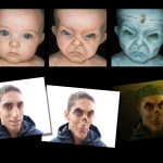 Morphing of faces