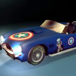 Portfolio laurent gosselin : Shelby Cobra 1967